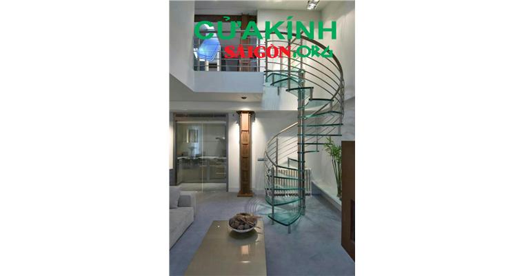 Mẫu cầu thang sắt hiện đại an toàn phù hợp nhất cho kiến trúc nhà ống