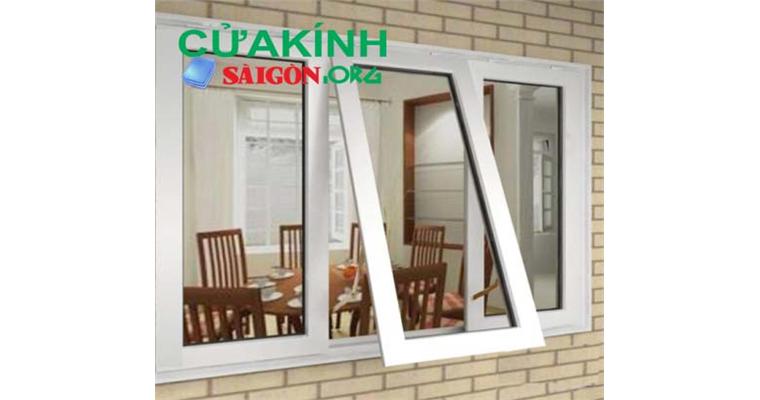 Cửa sổ nhôm kính 3 cánh đảm bảo thông thoáng, lấy ánh sáng tự nhiên tối đa