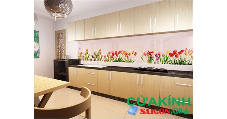TOP những mẫu kính ốp bếp đẹp phù hợp cho mội không gian bếp