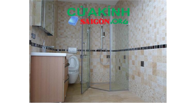 Kính thủy nhà tắm Sài Gòn, sự tiện lợi của kính thủy nhà tắm