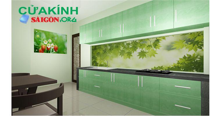 Kính trang trí phòng bếp - sự lựa chọn hoàn hảo cho không gian bếp