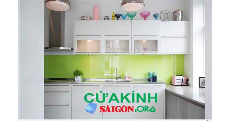 Tư vấn lắp đặt kính màu ốp bếp chất lượng tại Hải Phòng