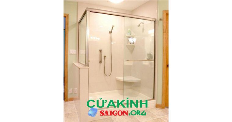Vách kính nhà tắm cabin phòng tắm giá rẻ tại HN HCM