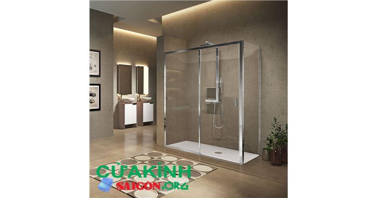 Tiện nghi hơn với vách kính phòng tắm thiết kế hiện đại