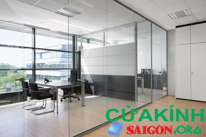 Tạo phòng riêng trong khu văn phòng mà vẫn tạo không gian rộng